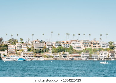 View of Corona del Mar from West Jetty View Park, in Newport Beach, California