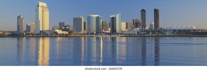 View from Coronado, San Diego, California