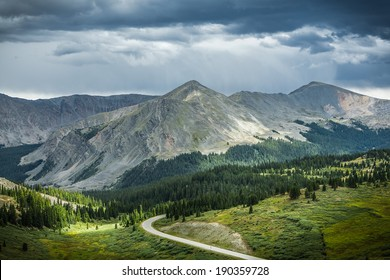 View From Cottonwood Pass, Colorado Continental Divide