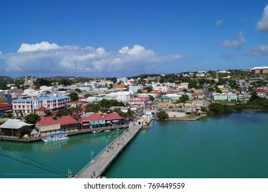 View from Cruise Terminal St. John´s - Antigua
