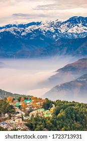 View at Dalhousie, Himachal Pradesh, India