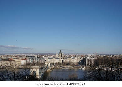 view of danube river in budapest