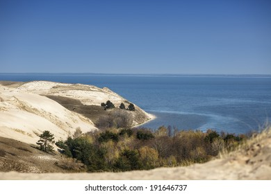 View of Dead Dunes, Curonian Spit, Lithuania