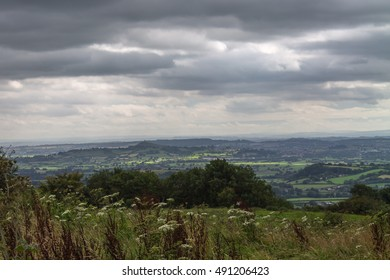 View from Dear Leap in Somerset on a stormy day.