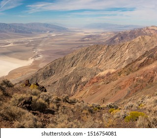 View of Death Valley on Dante's View Point  01