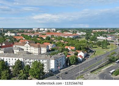 View of Debrecen city in Hungary