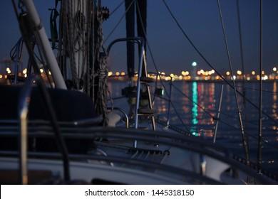 Night Sailing Images Stock Photos Vectors Shutterstock