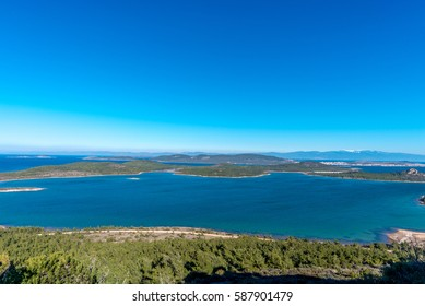 View from Devil's Table ( Seytan Sofrasi ), Ayvalik, Balikesir, Turkey