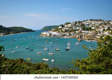 A view of the Devon town of Salcombe.