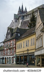 View of Diez with castle on the hill, Germany - Shutterstock ID 403646539