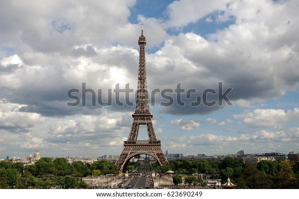 View from a different angle ... Eiffel Tower