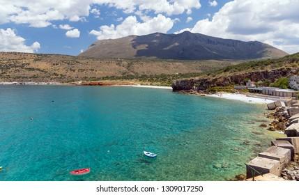 View of Diros beach in Mani, Laconia, Greece.