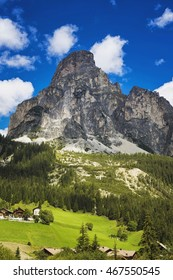 View of  Dolomite Mountains, South Tyrol, Italy