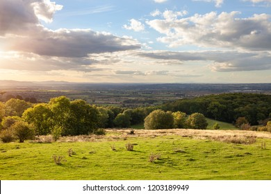 View from Dovers Hill near Chipping Campden, Gloucestershire, England