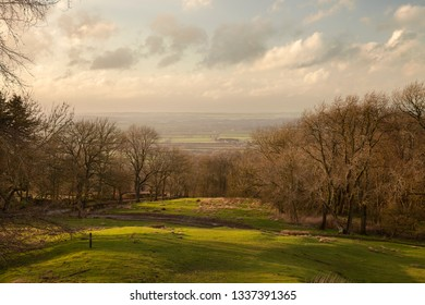 View from Dover's Hill near Chipping Campden, Cotswolds, Gloucestershire, England