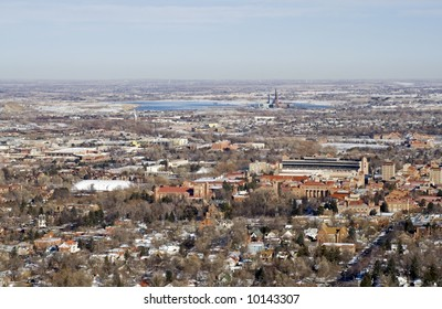 View of downtown Boulder