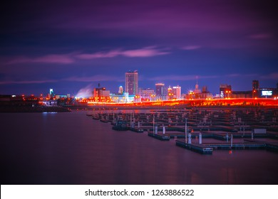 A View Of Downtown Buffalo New York skyline