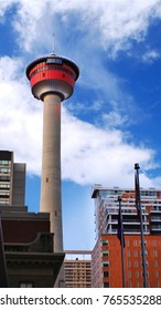 View from downtown of Calgary Tower, Calgary, Alberta, Canada