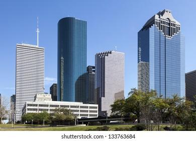 A View of Downtown Houston, Texas
