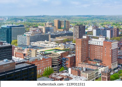 View of downtown New Haven, Connecticut