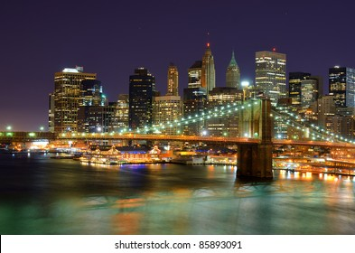View of Downtown New York City