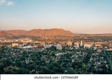 View of downtown Riverside, from Mount Rubidoux in Riverside, California