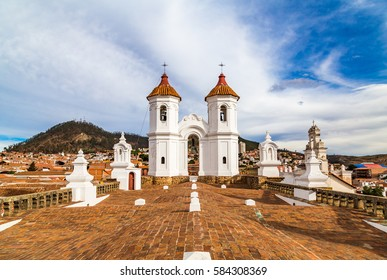 A view of downtown Sucre, Bolivia