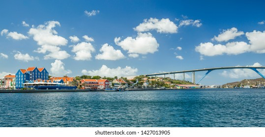View of downtown Willemstad. Curacao,
