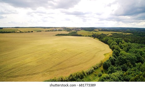 View from drone