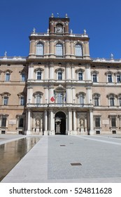 View of Ducal Palace, Modena Italy
