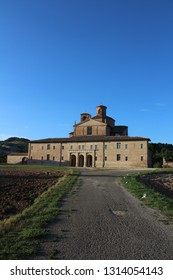 View of Ducal Palace of Urbania, Sant'Angelo in Vado, Italy