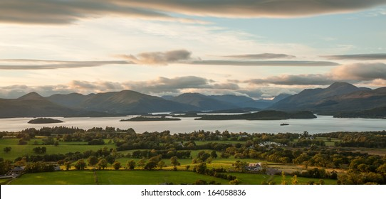 View from Duncryne Hill over Loch Lomond