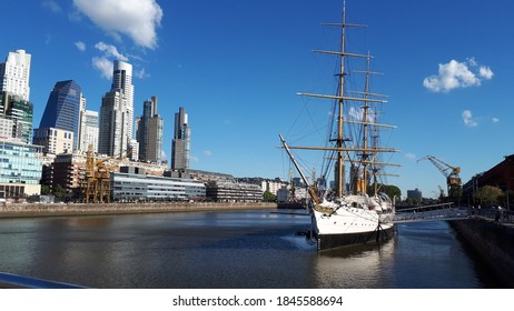A view during a trip in Buenos Aires, Puerto Madero
