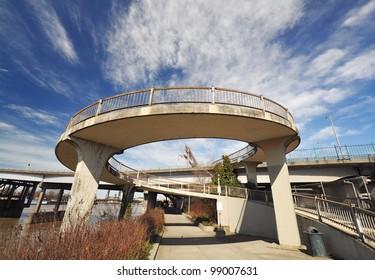 A view from Eastbank Esplanade Portland