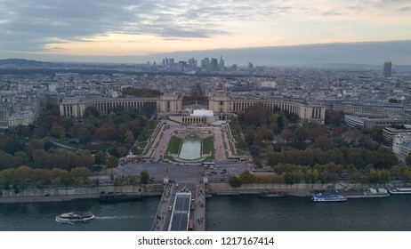View from the Effel Tower in Paris