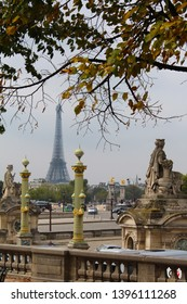 View of the Eiffel Tower, Paris, France