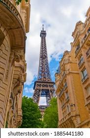 View of Eiffel Tower, Paris, France