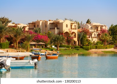 View of El Gouna resort. Egypt, North Africa