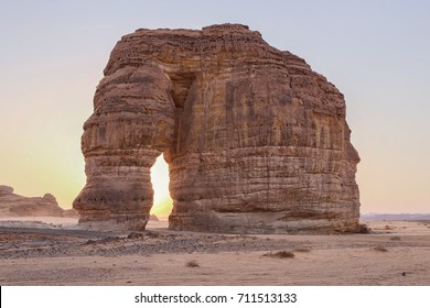 A view of Elephant Rock, Al Ula, KSA