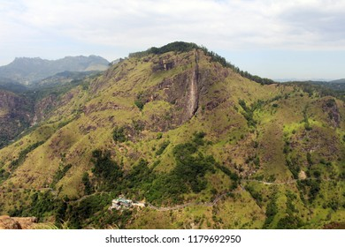 The view of Ella Rock from Little Adam's Peak in Ella. Taken in Sri Lanka, August 2018.