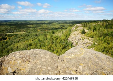 View from Ely's Peak Near Duluth on the Last Day of Summer