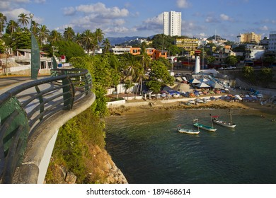 View from embankment of Acapulco