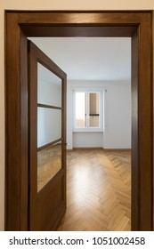 View of empty room from the entry