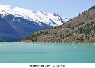 A View of Endicott Arm Fjord, Alaska, United States