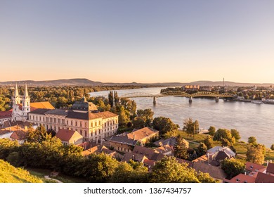 View from Esztergom Basilica is an ecclesiastic basilica in Esztergom, Hungary, the mother church of the Archdiocese of Esztergom-Budapest, and the seat of the Catholic Church.