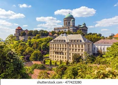 View of Esztergom basilica, Hungary