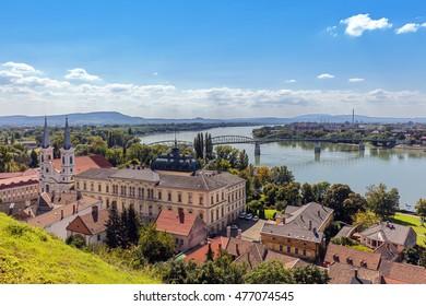 View of Esztergom, Hungary