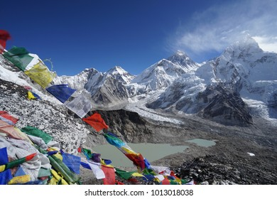 View of Everest from Kala Patthar.