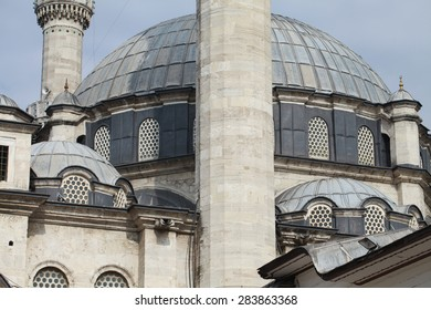 View of Eyup Sultan Mosque in Istanbul.