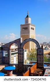 View of famous Mosque in Tunis, Tunisia
